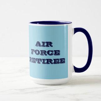 Retraité de l'Armée de l'Air de tasse