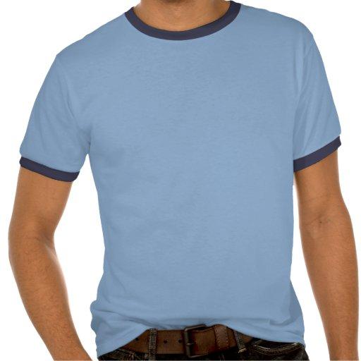 """Retraits """"chemise bleue de sonnerie de la poupée"""" t-shirts"""