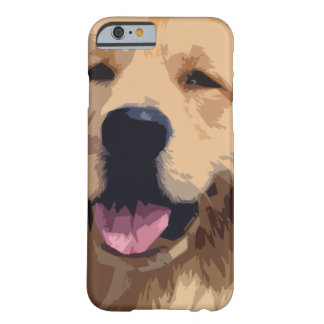 Retriever.png d'or coque iPhone 6 barely there