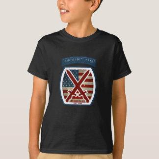 Rétro 10ème Division patriotique de montagne T-shirt