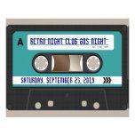 Rétro 80s cassette Mixtape personnalisé Tract Customisé