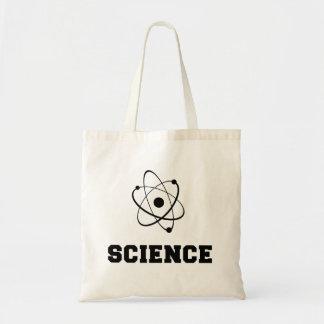 Rétro académie de la Science Sacs De Toile