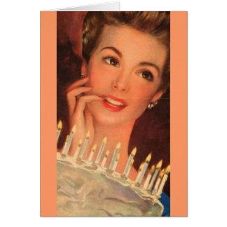 Anniversaire des ann es 1950 cartes invitations for Femme au foyer 1950
