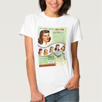 Rétro annonce vintage de les années 50 Tintz T-shirt