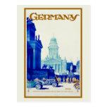 Rétro annonce vintage de voyage de Berlin Carte Postale