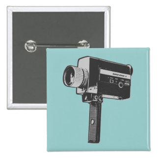 Rétro appareil-photo de film pin's
