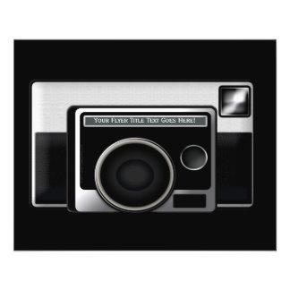 Rétro appareil-photo de film prospectus 11,4 cm x 14,2 cm