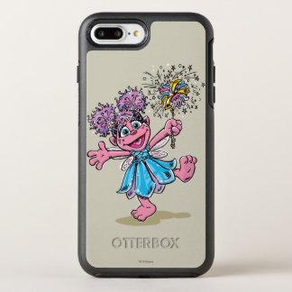 Rétro art d'Abby Cadabby Coque Otterbox Symmetry Pour iPhone 7 Plus