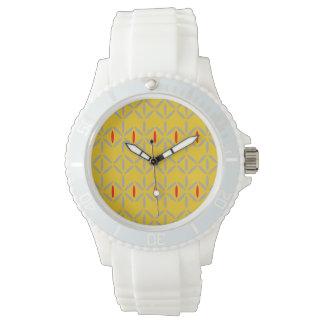 rétro audacieux génial sur des montres de moutarde