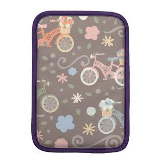 Rétro bicyclette et fleurs housse iPad mini
