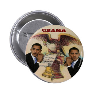 Rétro bouton d'Obama Liberty Bell Pin's