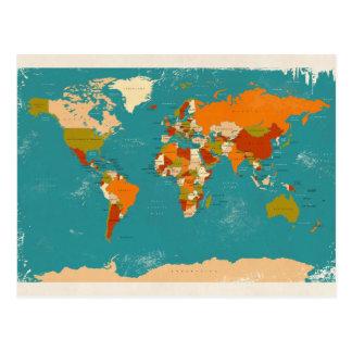 Rétro carte politique du monde