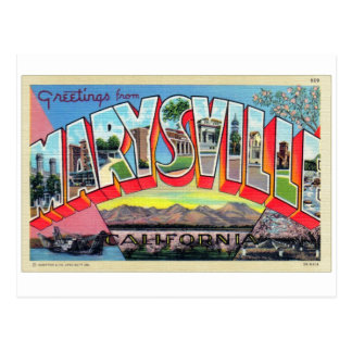Rétro carte postale vintage de lettre de