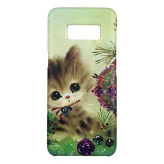 Rétro cas de Samsung S8 de chat de Noël vintage Coque Case-Mate Samsung Galaxy S8