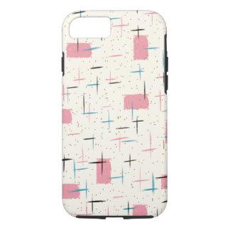 Rétro cas rose atomique de l'iPhone 6 de motif Coque iPhone 7