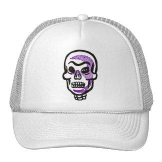Rétro casquette/chapeau de crâne de Halloween Casquette De Camionneur