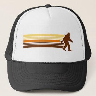 Rétro casquette de camionneur de Sasquatch