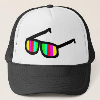 Rétro casquette de lunettes de soleil