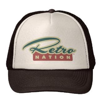 Rétro casquette de nation