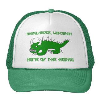 Rétro casquette de Rhinelander Hodag