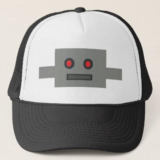 Rétro casquette de robot