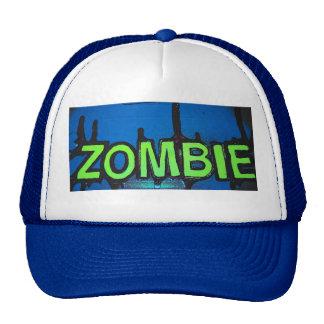 rétro casquette de zombi