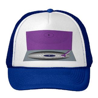 RÉTRO casquette du camionneur du DJ de PLAQUE