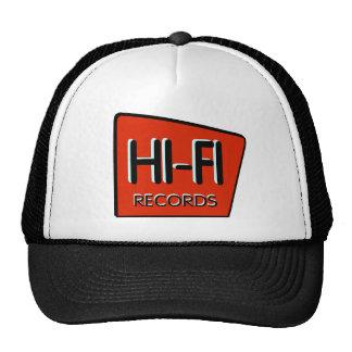 Rétro casquette rouge DE HAUTE FIDÉLITÉ de