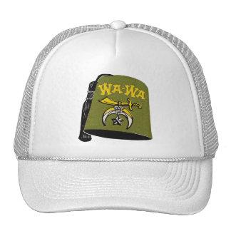 Rétro casquette vintage de Wa-Wa Fez de kitsch
