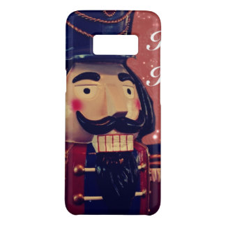 Rétro casse-noix de cru de vacances de Joyeux Noël Coque Case-Mate Samsung Galaxy S8