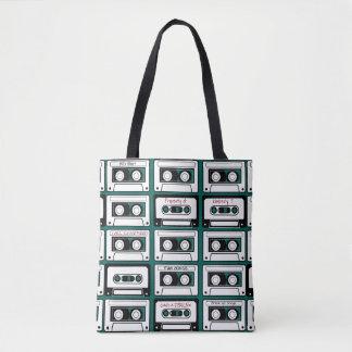Rétro cassette de bande personnalisée sac