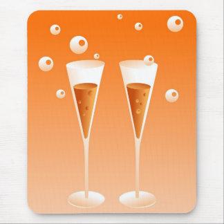 Rétro Champagne Tapis De Souris