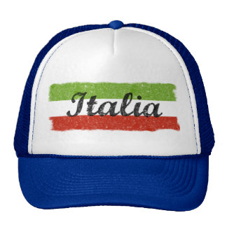 Rétro chapeau Italie de camionneur de l'Italie Casquettes