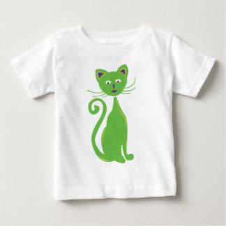 Rétro chat frais t-shirt