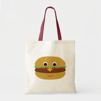 Rétro cheeseburger sac fourre-tout