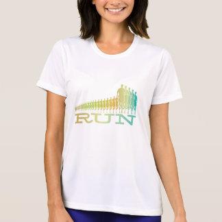 Rétro chemise courante t-shirt