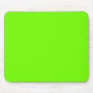 Rétro collection vert citron de Fluoro Tapis De Souris