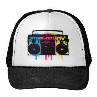 Rétro conception de peinture de jet de graffiti de casquette