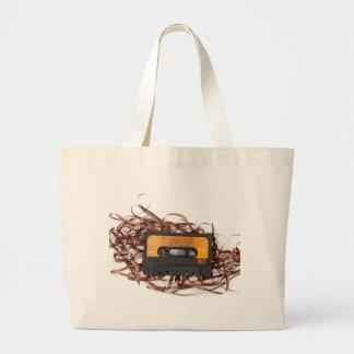 rétro conception des années 80 - bande de cassette grand sac