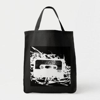 Rétro conception des années 80 - bande de cassette sacs de toile