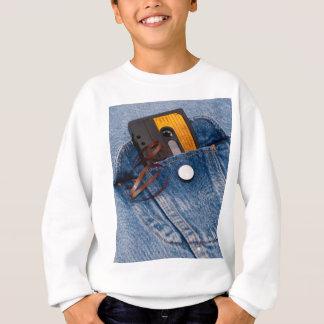 Rétro conception des années 80 - bande de cassette sweatshirt