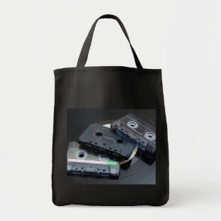 rétro conception des années 80 - bandes de sac en toile