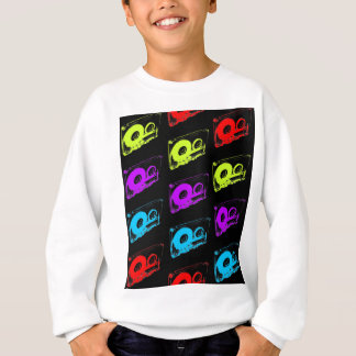 rétro conception des années 80 - bandes de sweatshirt