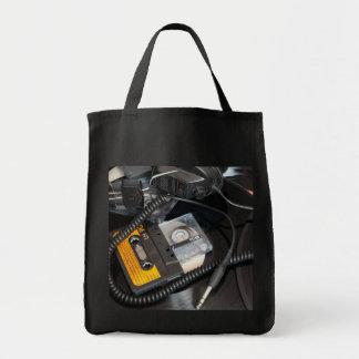 rétro conception des années 80 sac de toile