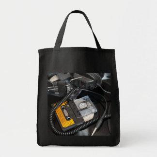 rétro conception des années 80 sacs en toile