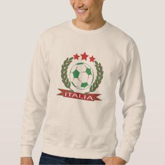 Rétro conception italienne du football sweatshirt