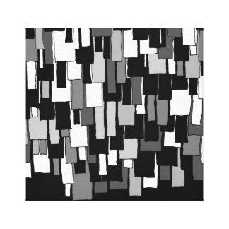 Rétro copie de toile d'AILERONS Toiles Tendues