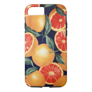 Rétro coque iphone vintage d'oranges