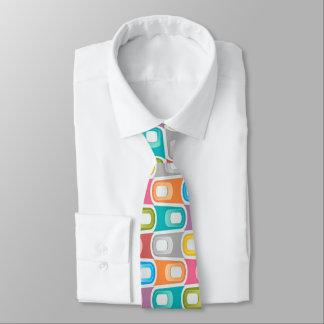 rétro cravate bleu de rockabilly d'abrégé sur