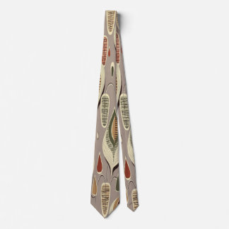 """Rétro cravate géométrique vintage de """"feuille"""" de"""